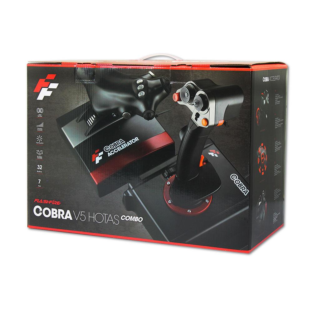 Cobra V5 HOTAS Flight Simulation Combo | Tomauri